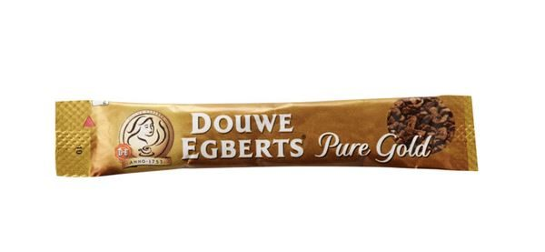 Coffee sticks, Douwe Egberts, Pure Gold,