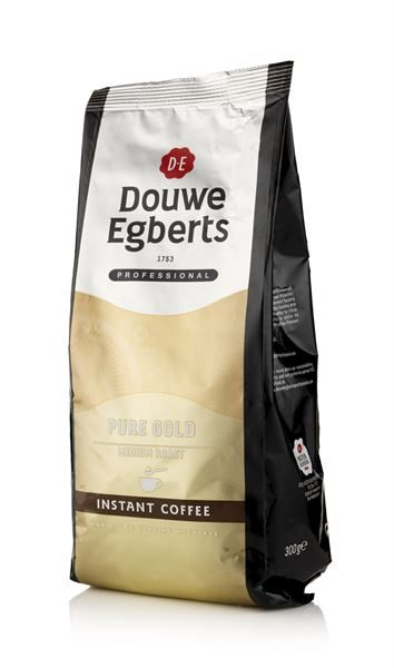 Vending Coffee, Freeze Dried, Douwe Egberts, Pure Gold