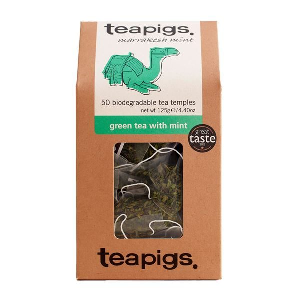 Tea, Teapigs, Tea Temples, Green tea with Mint