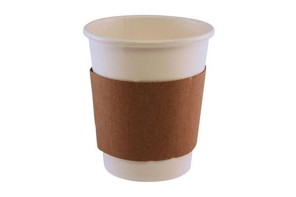 Cup Sleeve, Paper Cup, Disposable Paper Sleeve, Coffee Cup